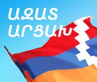 "Prime Minister A.Haroutyunyan's congratulatory message to ""Azat Artsakh"""