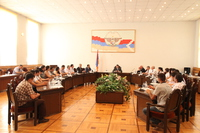 Meeting at the NKR Government