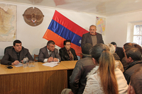 The Prime Minister visited the regions of Martakert and Shahoumyan