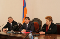 The Prime Minister introduced the new Minister of Healthcare Haroutyun Koushkyan