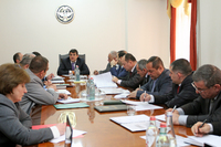 Consultation dedicated to the cattle-breeding and sanitation