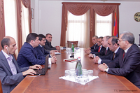 The Prime Minister received the delegation of the RA public services regulating commission
