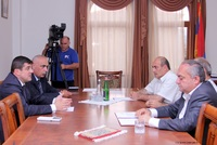 "The Prime Minister received the members of the National Assembly's grouping ""Dashnaktsutyun"""