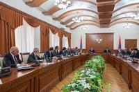 RA Prime Minister Hovik Abrahamyan arrived in Artsakh