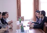 Премьер-министр встретился с делегацией  ГКЗЭК РА