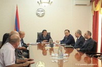 Prime Minister received Martin Sargsyan