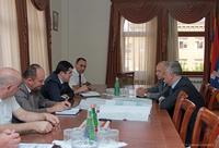 Премьер-министру был  представлен  проект использования воды Сарсангского водохранилища в целях  орошения