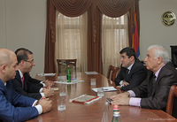 Prime Minister received the RA minister of sport and youth affairs
