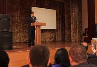 Премьер-министр принял участие в мероприятии, посвященном 25 -летию основания экономико- правового факультета АрГУ