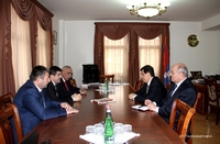 Prime Minister received Armen Yeritsyan