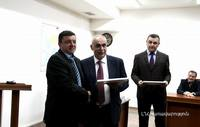 Vice- Prime  Minister partook in the closing ceremony of the courses