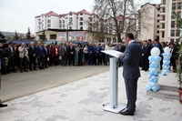 """Opening ceremony of the """"Artsakh Information Technologies Center"""" fund's building"""