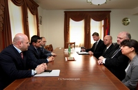 Prime Minister received a group of deputies from Germany