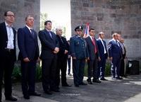 Ара Арутюнян принял участие в мероприятиях, посвященных дню освобождения Бердзора