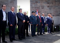 Arayik Haroutyunyan participated in the events dedicated to Berdzor's liberation day