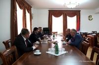 Arayik Haroutyunyan received Hovhannes Toqmajyan