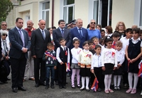 Arayik Haroutyunyan participated in the opening ceremony of community centers