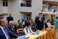 Ара Арутюнян присутствовал на  «Последнем звонке»