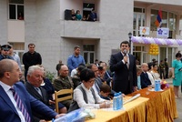 """Arayik Haroutyunyan participated in the """"Last bell"""" celebration"""