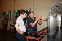 Ара Арутюнян посетил рыборазводню по производству черной икры