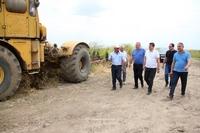 Араик Арутюнян ознакомился с работами  фермерских хозяйств в Аскеранском районе
