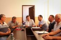 Араик Арутюнян провел в Мартакерте рабочее совещание