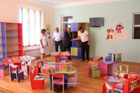 Arayik Haroutyunyan participated in the opening ceremony of the new kindergarten in the village Avetaranots