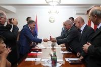 Вице-премьер АР принял министра охраны природы РА