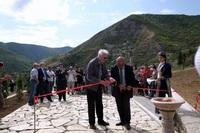 Араик Арутюнян принимал участие в церемонии открытия водной линии Вардадзора