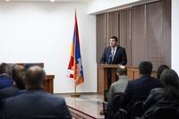 Араик Арутюнян встретился с главами общин, участвующих в семинарах