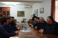 Արայիկ Հարությունյանն ընդունել է Արցախին աջակցություն բերած՝ ՌԴ Կրասնոդարի հայ համայնքի ներկայացուցիչներին