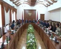 Араик Арутюнян принимал участие в подписании меморандума о взаимопонимании между министерствами финансов РА и НКР