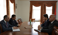 Араик Арутюнян принял новоназначенного секретаря СНБ РА Армена Геворгяна