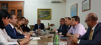 Արայիկ Հարությունյանն ընդունել է ՀՀ ՏՄՊՊՀ նախագահ Արտակ Շաբոյանի գլխավորած պատվիրակությանը