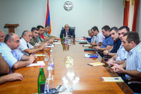 Consultation at the Government with the participation of food producers