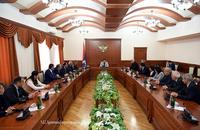 Араик Арутюнян принял делегацию Национального политехнического университета Армении