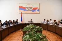 Араик Арутюнян встретился с участниками семинара « Военная журналистика»