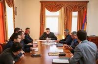 Государственный министр Григорий Мартиросян созвал рабочее совещание