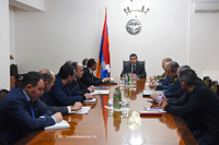 State Minister Martirosyan held a working consultation on the safe use of natural gas
