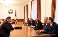 Հանդիպում ՀՀ քննչական կոմիտեի նախագահ Հայկ Գրիգորյանի հետ