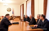 Встреча с председателем Следственного комитета Армении Айком Григоряном