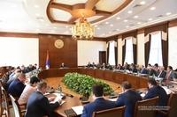Կառավարության նիստ Նախագահ Սահակյանի նախագահությամբ