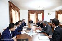 Խորհրդակցություն հանրապետության շրջվարչակազմերի ղեկավարների մասնակցությամբ