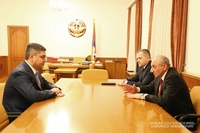 Հանդիպում ՀՀ ազգային անվտանգության ծառայության տնօրեն Արթուր Վանեցյանի հետ