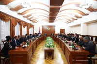 The 7th Pan-Armenian summer games will be held in Artsakh; State Minister received the delegation headed by Ishkhan Zaqaryan