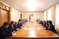 Meeting with the governmental delegation of the Republic of Armenia