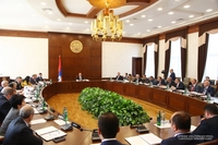 Artsakh Republic President chaired the meeting of the Cabinet