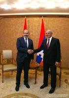 Встреча с Премьер-министром Республики Армения Николом Пашиняном