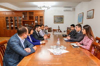 Grigory Martirosyan received the delegation headed by Hovhannes Movsisyan