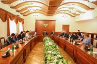 У государственного министра обсуждены организационные вопросы  7  Всеармянских летних игр